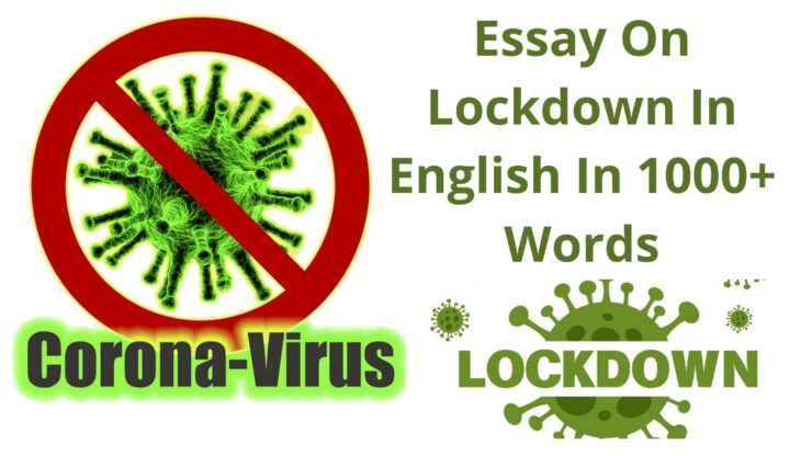 Essay On Lockdown In English In 1000+ Words