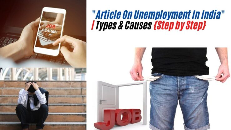 Article On Unemployment In India
